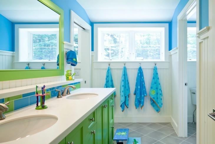 kids bathroom header