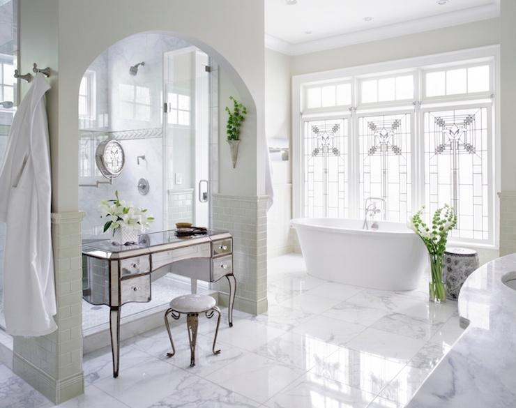 seated vanity